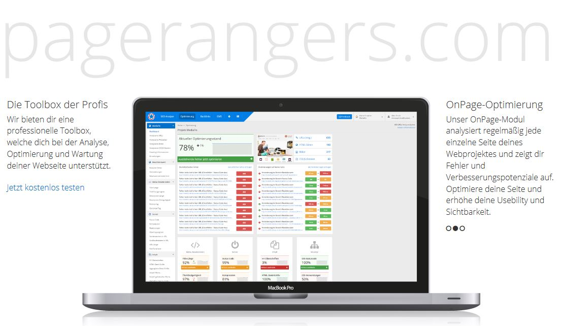 pagerangers Internet tool