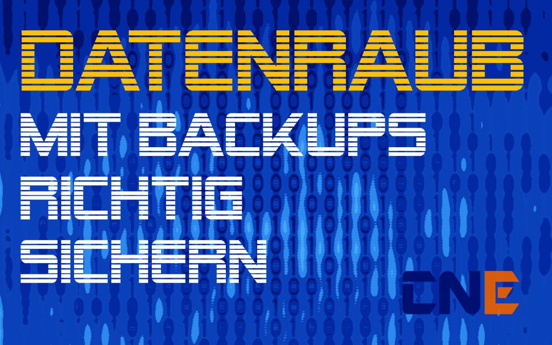 Backup – Datenverlust vorbeugen