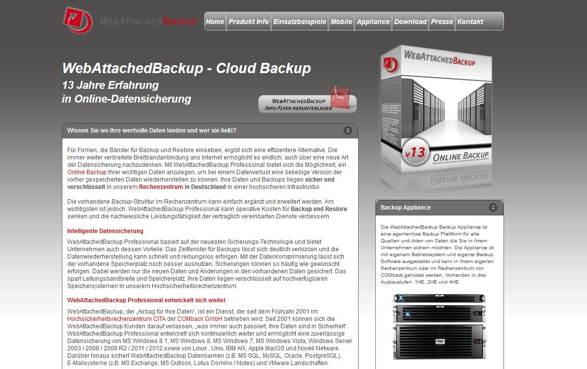 Backup-Software-Datensicherheit-Datensicherung