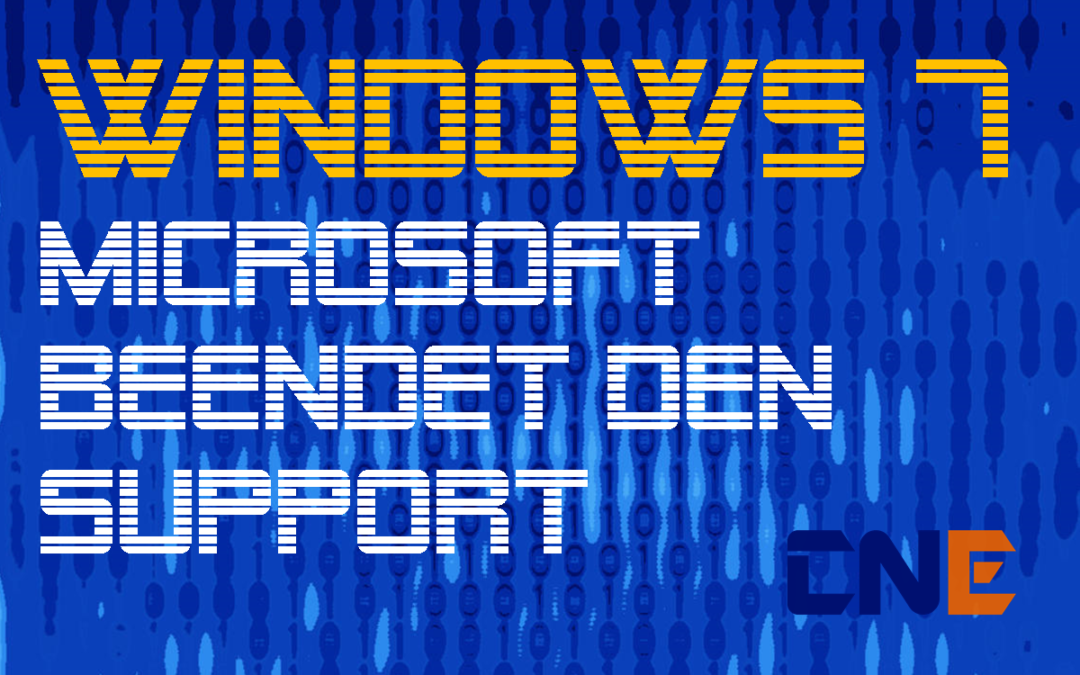 Microsoft meldet Support-Ende von Windows 7