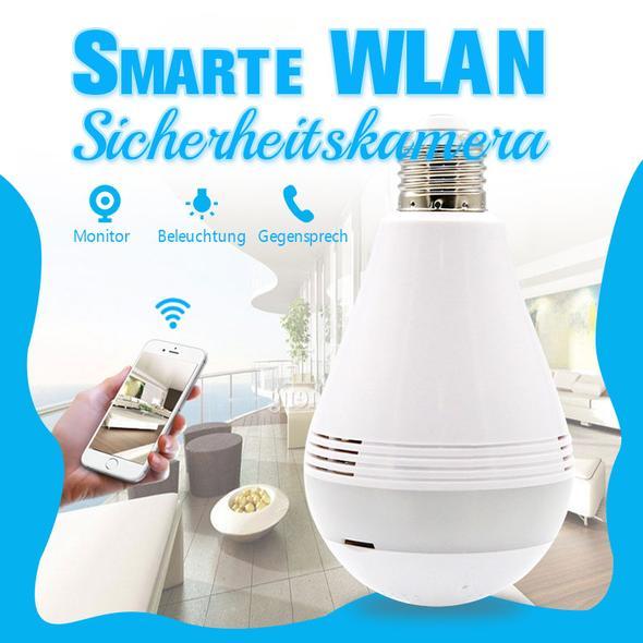 Genial: Sicherheitskamera als smarte WLAN Glühbirne