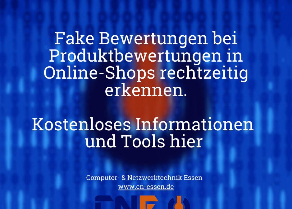 Falsche Produktbewertungen in Online-Shops erkennen